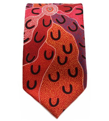 Red Mens Tie