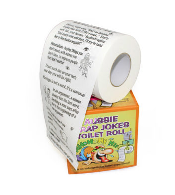 Joke Toilet Roll
