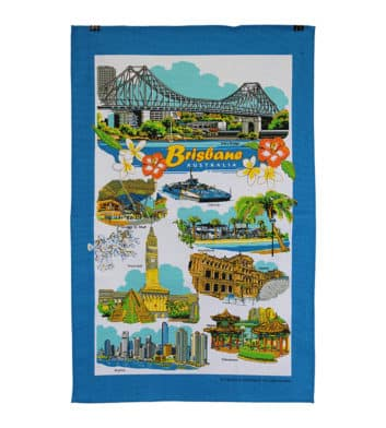 Brisbane Tea Towel