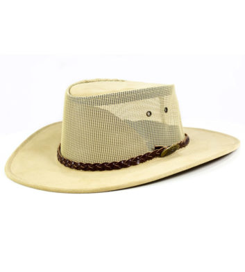 Summer Breeze Leather Hat
