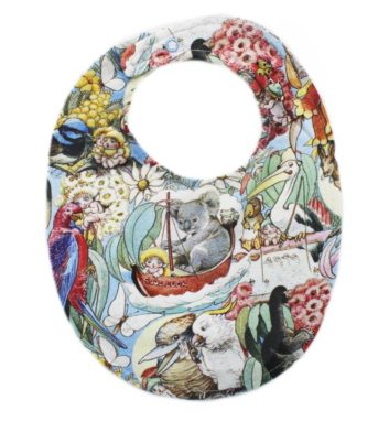 May Gibbs Brooklyn Bib - Story time