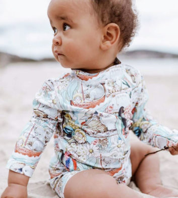 May Gibbs Rashie Long Sleeve - Storytime