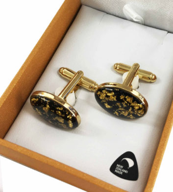 Gold Flake Cufflinks