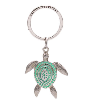 Turtle Metal Keyring
