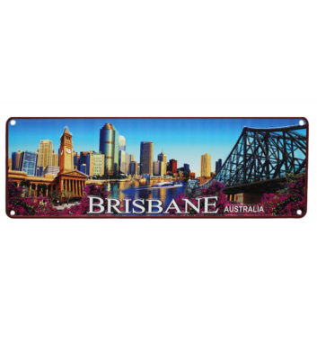 BRISBANE NOVELTY NUMBER LICENSE PLATE