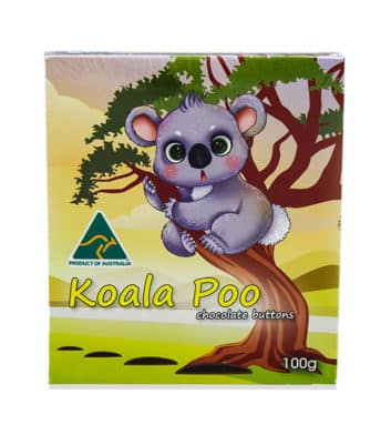 Koala Poo Chocolates