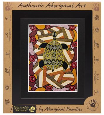 Framed Aboriginal Art