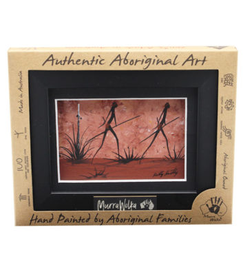 Aboriginal Framed Landscape Art