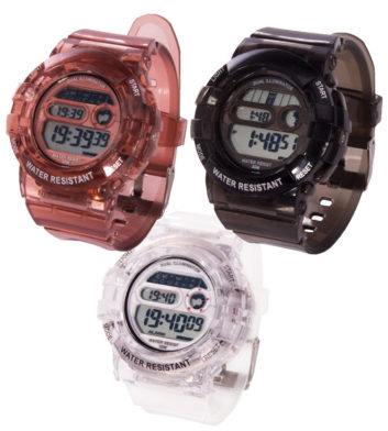 Water Resistant Digital Watch